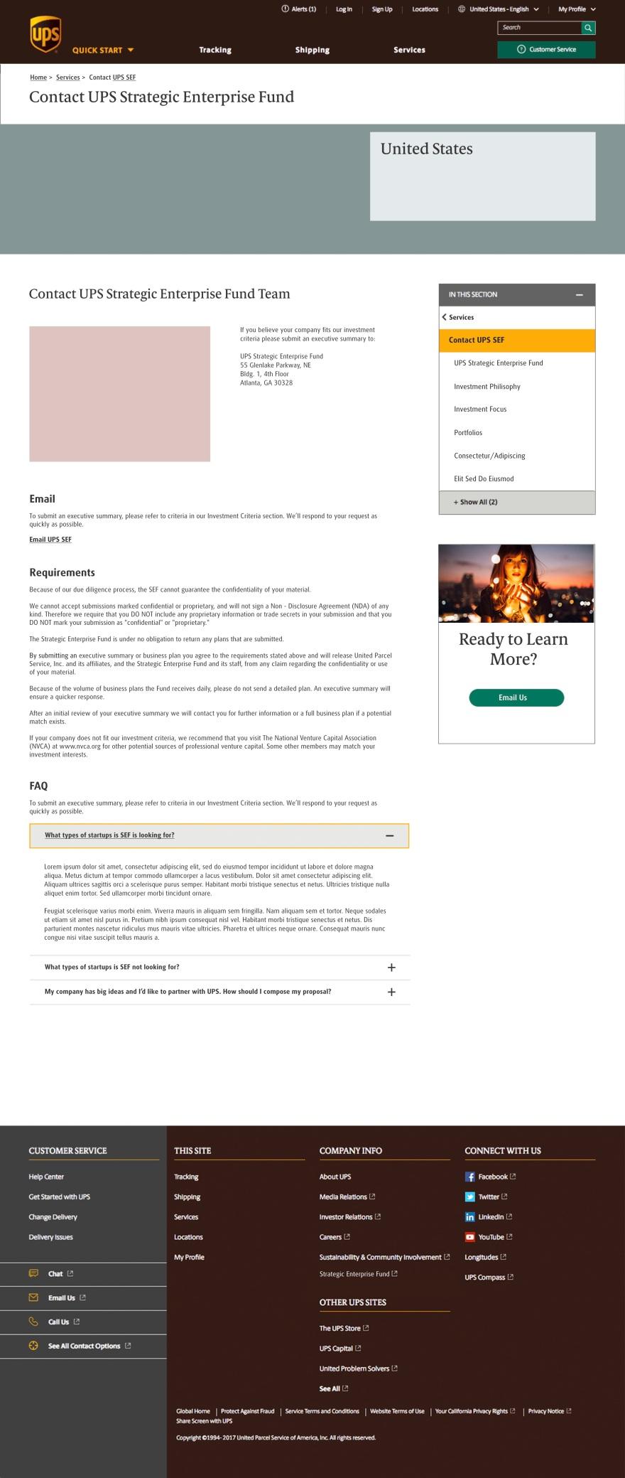 UPS_SEF_Contact